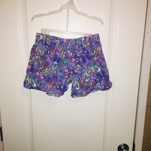 Faded glory size 14 girls shorts lavender